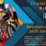 Triathlon Coach Greece Webinar (8/5, 21:00): Open Water Swimming